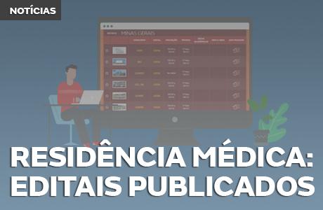 Residência Médica: 151 editais publicados até o momento